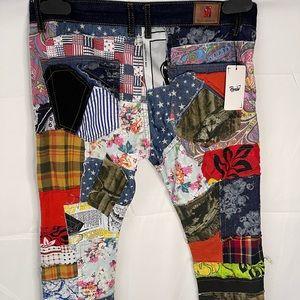 Supreme x biepa patchwork jeans